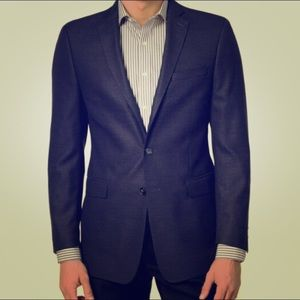 Men's size 40s Calvin Klein navy blue sport coat